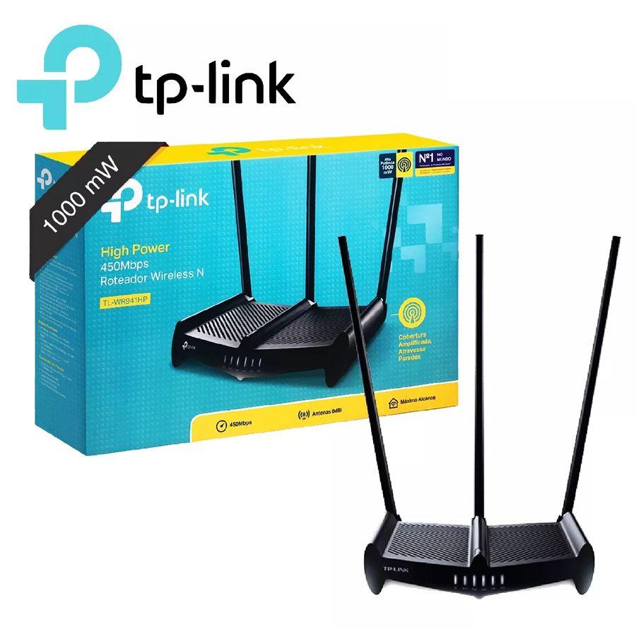 Router tplink mod.TL-WR941hp 3 antenas de 9 dbi |